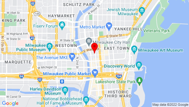 Google Map of 763 N Broadway, Milwaukee, WI 53202
