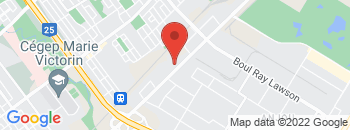 Google Map of 7645+Boul+Henri-Bourassa+Est%2CMontreal%2CQuebec+H1E+1N9