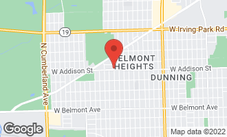 Map of 7664 West Addison Street CHICAGO, IL 60634