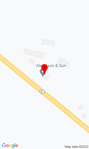 Google Map of Alex Lyon & Son Sales Managers & Auctioneers, Inc. 7697 Route 31 (PO Box 610), Bridgeport, NY, 13030
