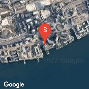 Satellite Map of 77 Harbour Sq Unit 2805, Toronto, Ontario