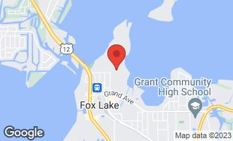 Map of 77 Mineola Road #77 FOX LAKE, IL 60020