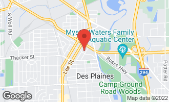 Map of 770 Pearson Street #311 DES PLAINES, IL 60016