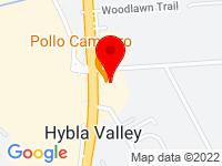 Google Map of 7705 Fordson Road