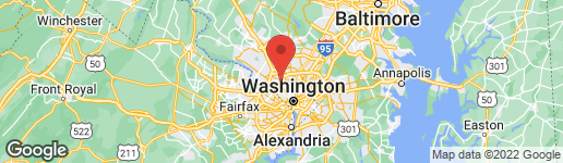 Map of 7710 WOODMONT AVENUE #811 BETHESDA, MD 20814