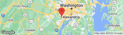 Map of 7711 GRALNICK PLACE SPRINGFIELD, VA 22153