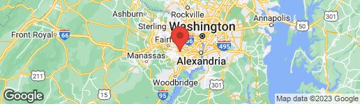 Map of 7716 JERVIS STREET SPRINGFIELD, VA 22151