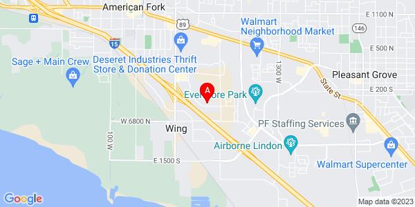 Google Map of 775 E 930 S, American Fork, UT 84003