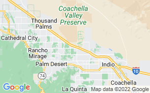Map of Palm Springs RV Resort & Campground