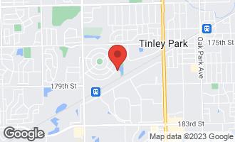 Map of 7751 Bristol Park Drive 4NE TINLEY PARK, IL 60477