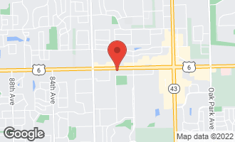 Map of 7751 West 159th Street #4 TINLEY PARK, IL 60477