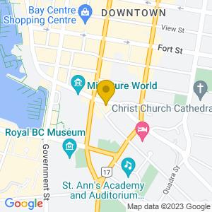 Map to Bartholomew's Pub provided by Google