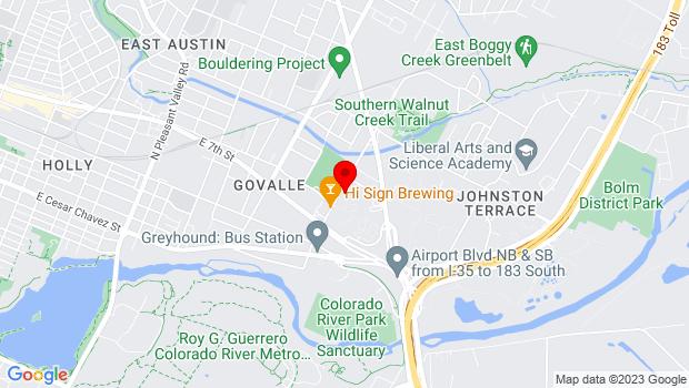 Google Map of 777 Shady Lane #8, Austin, TX