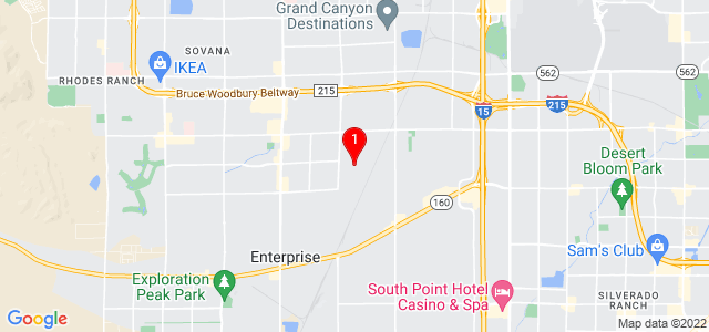 Google Map of 7770 Duneville St, Suite 4 Las Vegas, NV 89139