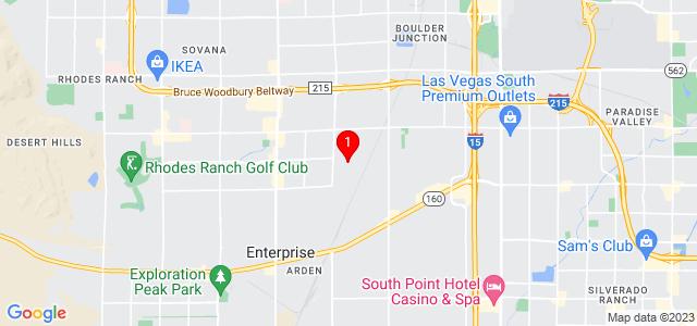 Google Map of 7770 Duneville St, Suite 4 Las Vegas, NV 89139