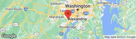 Map of 7788 NEWINGTON WOODS DRIVE SPRINGFIELD, VA 22153