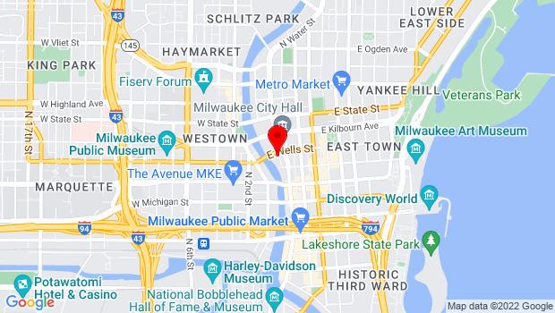 Google Map of 779 N. Front Street, Milwaukee, WI 53202