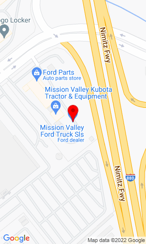 Google Map of Mission Valley Tractor & Equipment 780 East Brokaw Road, San Jose, CA, 95112
