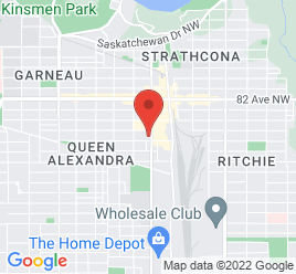 Google Map of 7806-104st%2CEdmonton%2CAlberta+T6E+4C6
