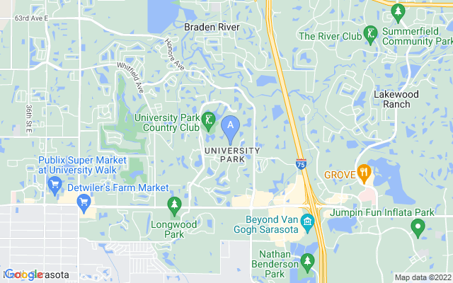 7812 Sloane Gardens Ct University Park Florida 34201 locatior map