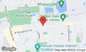 Map of 782 Barclay Drive BOLINGBROOK, IL 60440