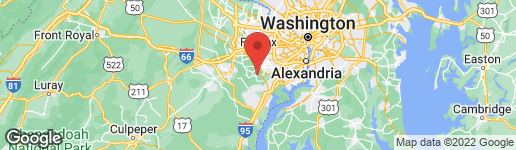 Map of 7825 MANOR HOUSE DRIVE FAIRFAX STATION, VA 22039