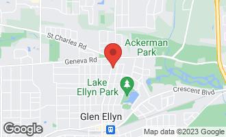 Map of 783 North Main Street GLEN ELLYN, IL 60137