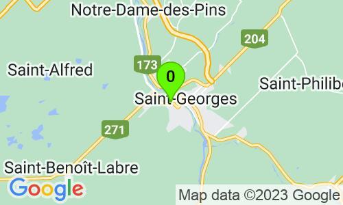 Carte du 785 boul. Dionne, St-Georges, G5Y 3T8, Québec