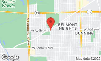 Map of 7859 West Addison Street #2 CHICAGO, IL 60634