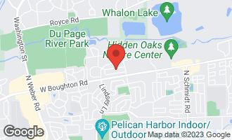 Map of 787 Brompton Lane BOLINGBROOK, IL 60440