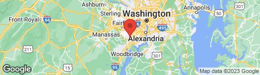 Map of 7871 ROLLING WOODS COURT #201 SPRINGFIELD, VA 22152