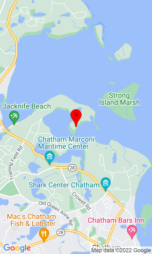 Google Map of 789 Fox Hill Road Chatham MA