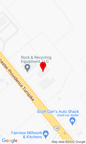 Google Map of Rock & Recycling Equipment, LLC 79 Worcester Providence Turnpike, Sutton, MA, 01590