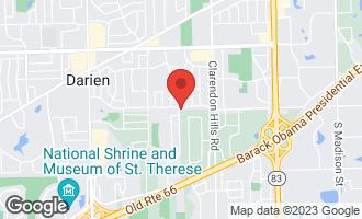 Map of 7901 Sawyer Road DARIEN, IL 60561