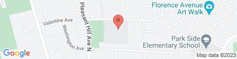 Google Map of 7905 Valentine Ave, Sebastopol, CA 95472