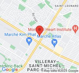 Google Map of 7905+boul+Provencher%2CMontreal%2CQuebec+H1R+2Y7