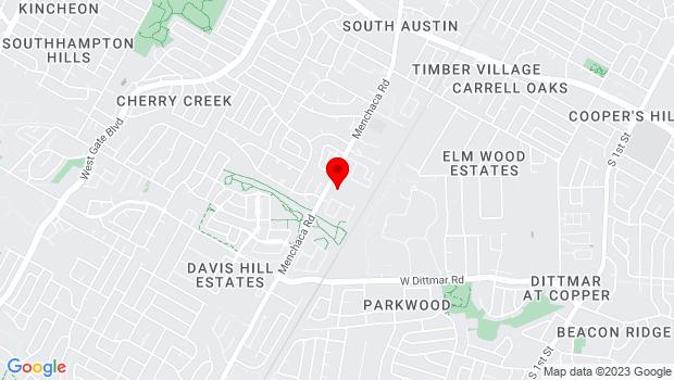 Google Map of 7915 Manchaca Rd, Austin, TX 78745