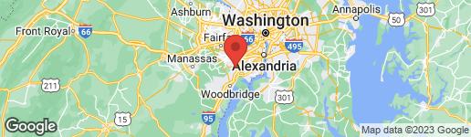 Map of 7917 COLORADO SPRINGS DRIVE SPRINGFIELD, VA 22153