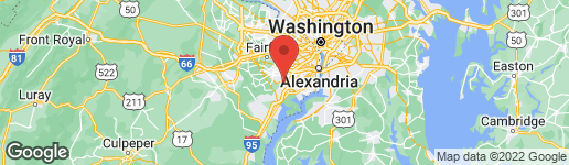 Map of 7925 ORANGE PLANK ROAD SPRINGFIELD, VA 22153