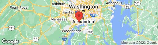 Map of 7926 CALEDONIA STREET ALEXANDRIA, VA 22309