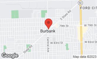 Map of 7935 Central Avenue BURBANK, IL 60459