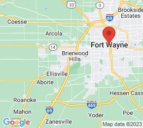 Job Map - 7950 West Jefferson Boulevard Fort Wayne, Indiana 46804 US