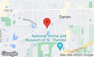 Map of 7950 Knottingham Circle D DARIEN, IL 60561