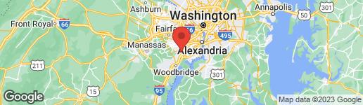 Map of 7955 Cameron Brown Court Springfield, VA 22153