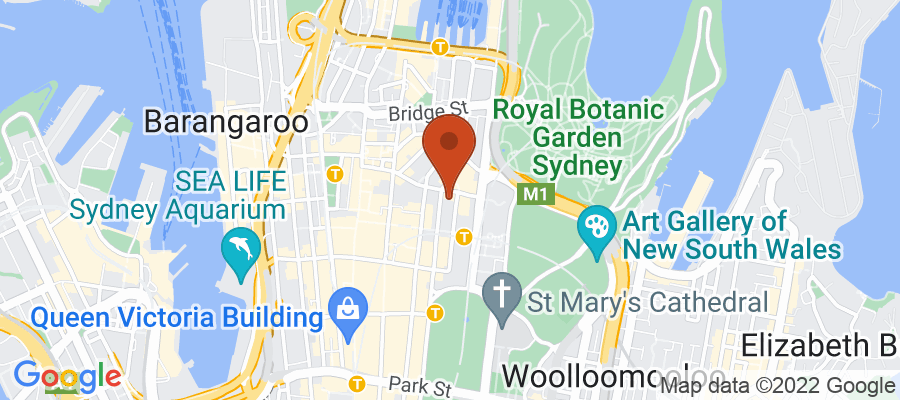 Map for 8 Chifley Square, Sydney NSW, Australia