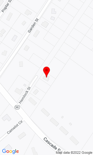 Google Map of REMU USA Inc. 8 Hemlock Street, Old Orchard Beach, ME, 04064