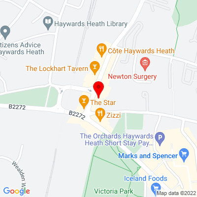 Google Map of 8 - 14 The Broadway, West Sussex, RH16 3AP