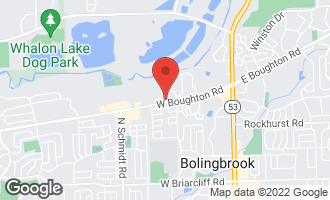 Map of 8 Roanoke Court BOLINGBROOK, IL 60440