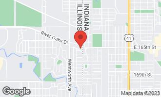 Map of 8 Schrum Road CALUMET CITY, IL 60409