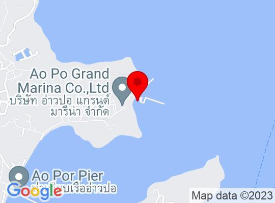 Google Map of Phuket